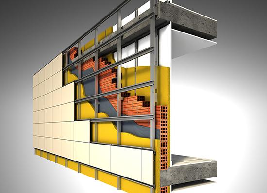 Fachada ventilada para naves industriales - Fachada nave industrial ...