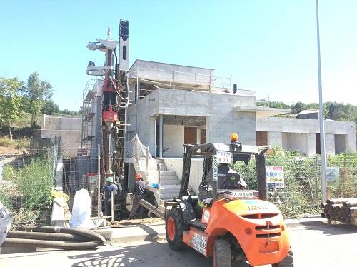 perforación para geotermia