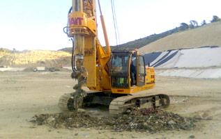 Extracción de biogás